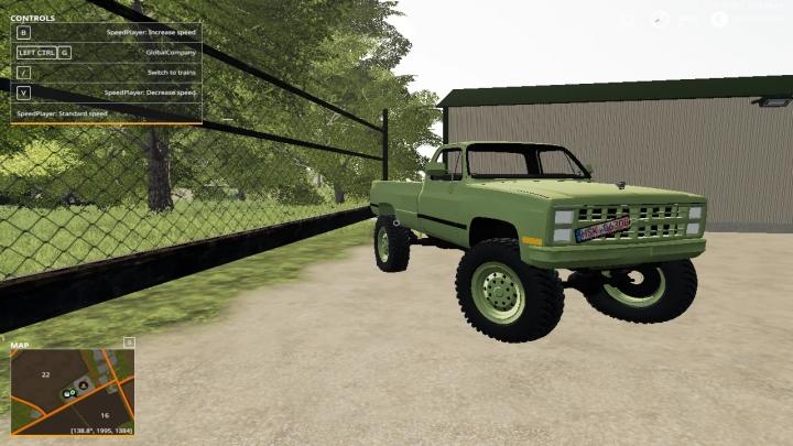 FS19 - 1985 Chevy K30 V1.0