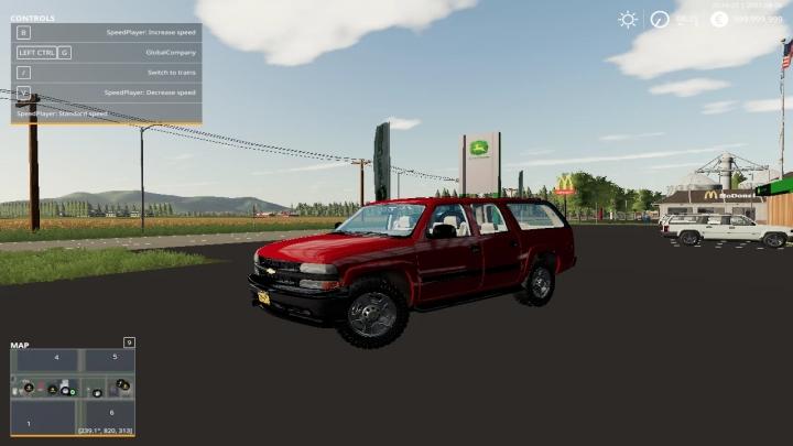 FS19 - 2000 Chevy Suburban V1.0