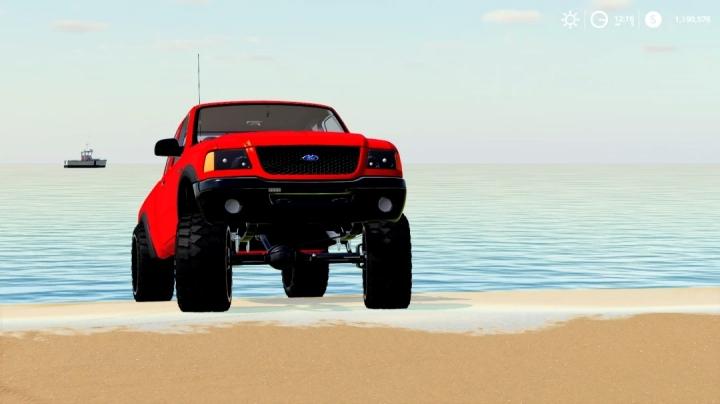 FS19 - 2011 Ford Ranger Pilot Car V1.0