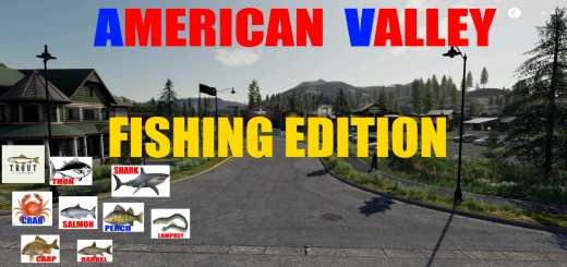Photo of FS19 – American Valley Fishing Edition V1.1