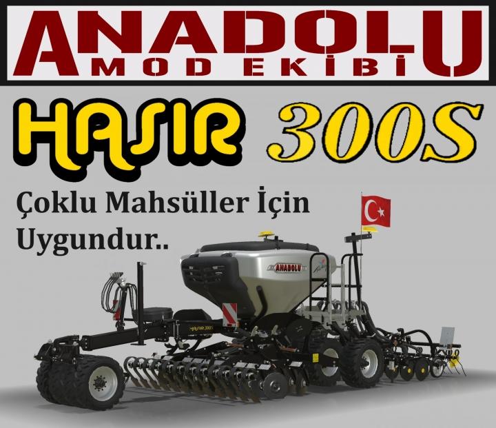 FS19 - Anadolu Hasir 300S V1.0