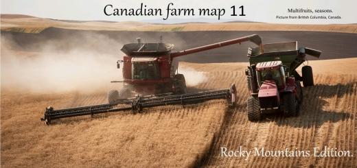 Photo of FS19 – Canadian Farm Map V11