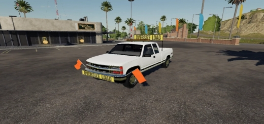 Photo of FS19 – Chevy 1500 Oversize Load/Pilot Car V1.0