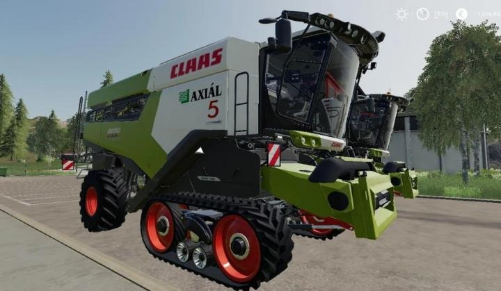 FS19 - Claas Lexion Series V1.0