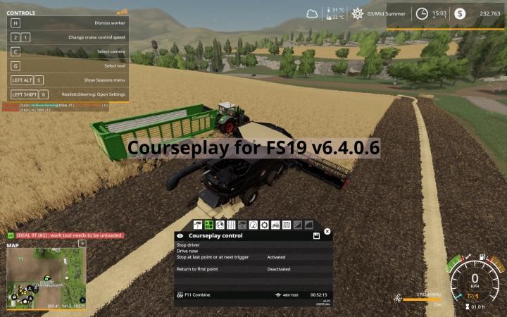 FS19 - Courseplay V6.4.0.6