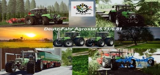 Photo of FS19 – Deutz-Fahr Agrostar 6.71/6.81 V1.0
