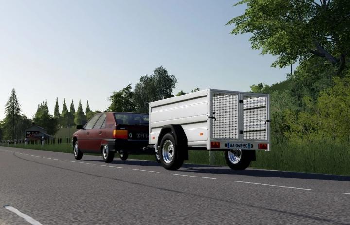 FS19 - Dog Transport Trailer V1.0