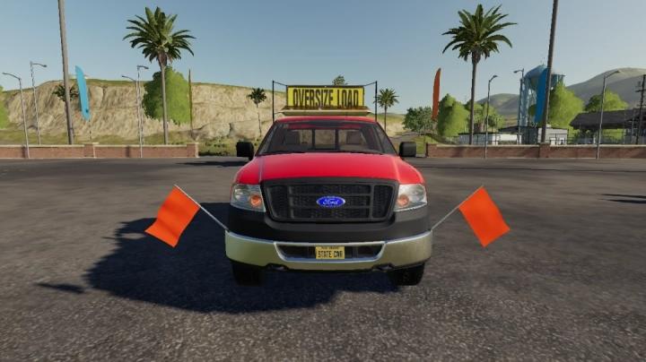 FS19 - Ford F-150 Oversize Load/Pilot Car V1.0