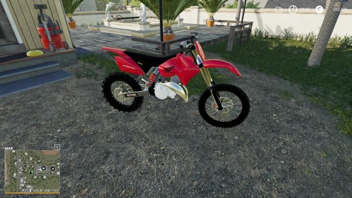 FS19 - Honda Dirtbike V1.0