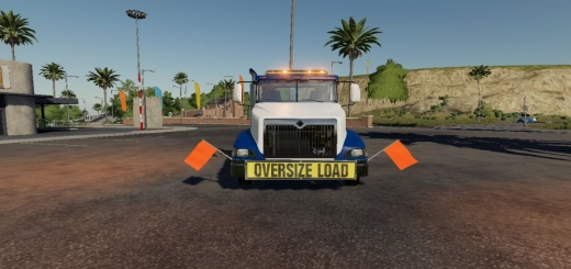 Photo of FS19 – International Eagle 9400 Oversize Load Truck V1.0