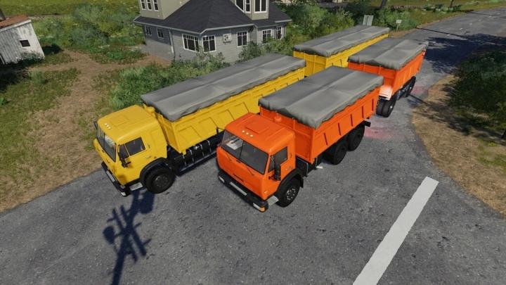 FS19 - Kamaz Grain Carrier V1.0