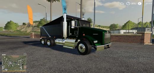 Photo of FS19 – Kenworth T800 Truck V4.0