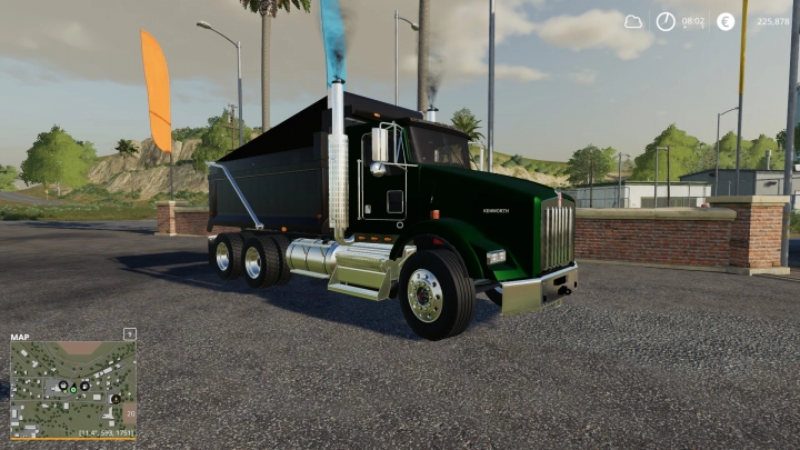 FS19 - Kenworth T800 Truck V4.0