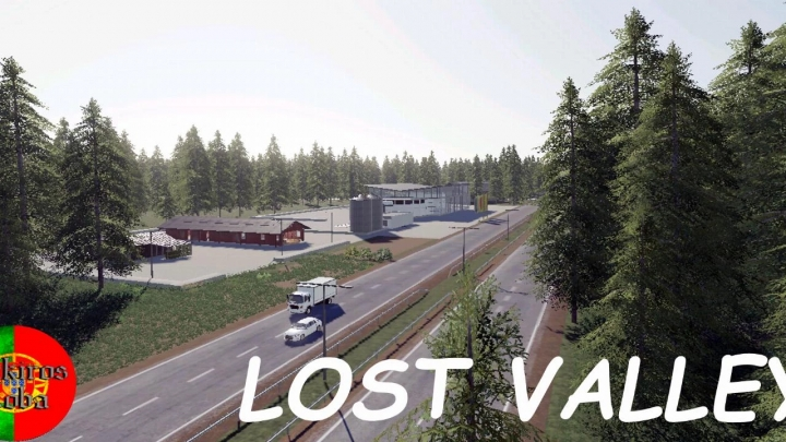 FS19 - Lost Valley Map V1.0.0.1