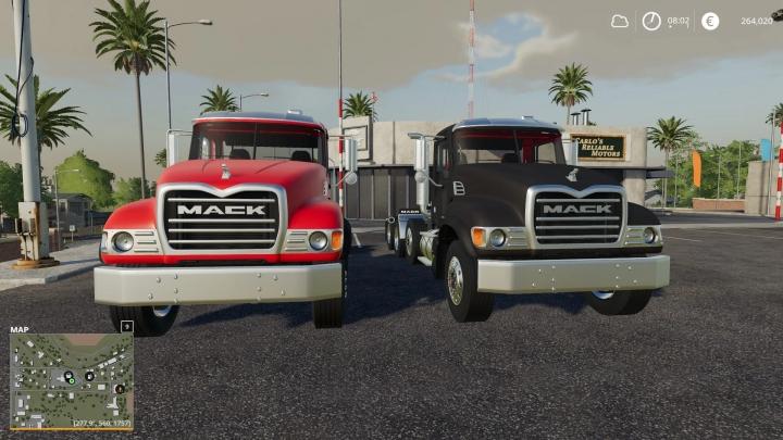 FS19 - Mack Granite Pack V1.0