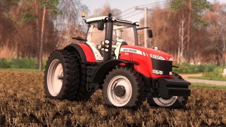 FS19 - Massey Ferguson 8700 Us V2.0
