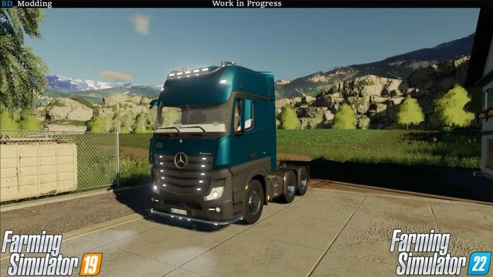 FS19 - Mercedes Mp4 V1.0