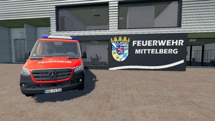 FS19 - Mercedes Sprinter L2 H1 Safj V1.0