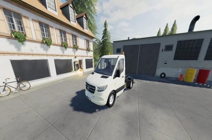 FS19 - Mercedes Sprinter Vantruck V1.0