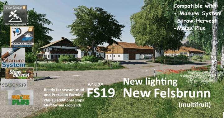 FS19 - New Felsbrunn (Multifruit) V2.0