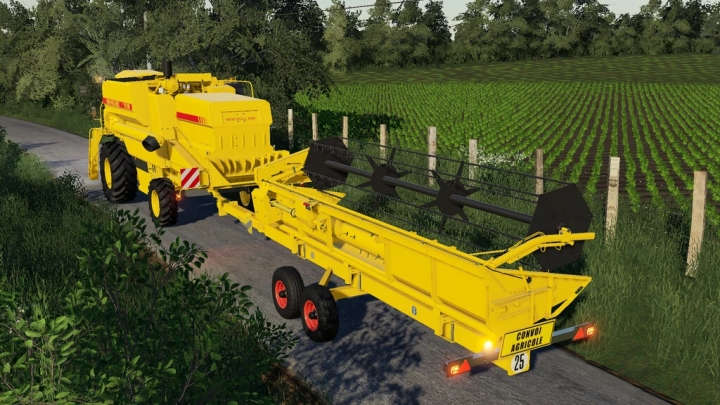 FS19 - New Holland Cutter Trailers V1.0