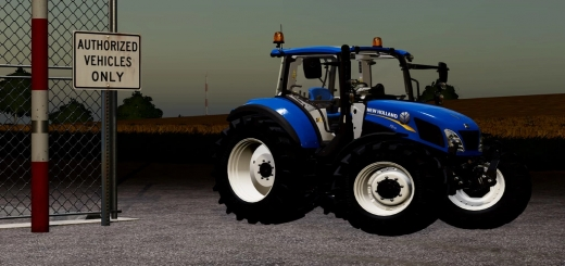 Photo of FS19 – New Holland T5 Utility Series V1.2