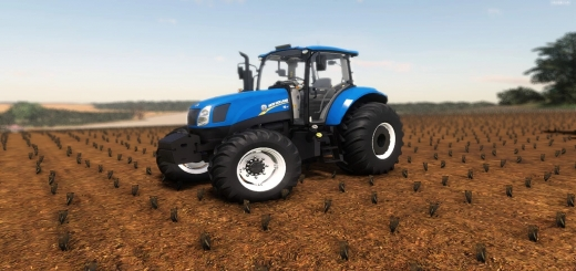 Photo of FS19 – New Holland T6110 / 130 V2.0