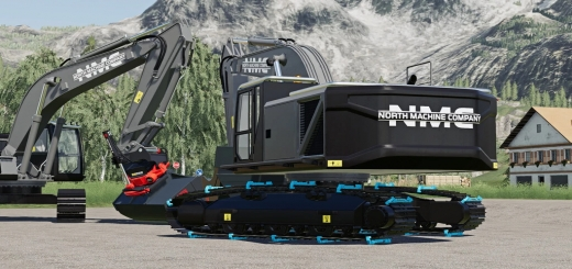 Photo of FS19 – Nmc 320 Excavator V1.0