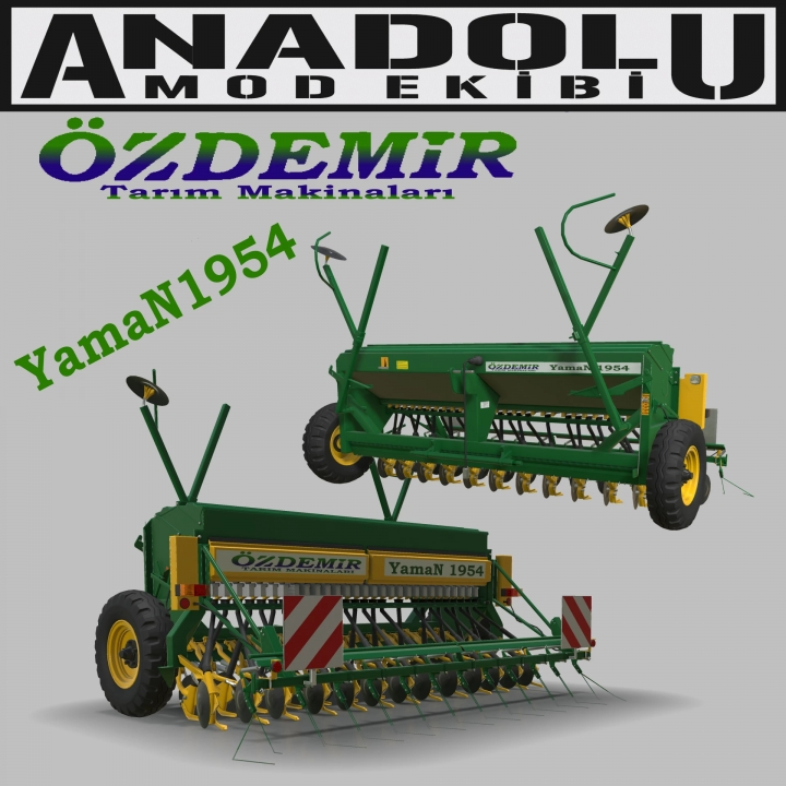 FS19 - Ozdemir Yaman1954 Seeder V1.0