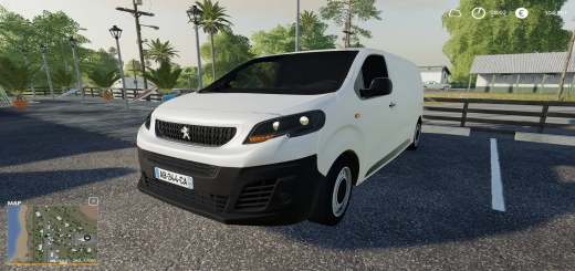 Photo of FS19 – Peugeot Expert Special Funfair V1.0