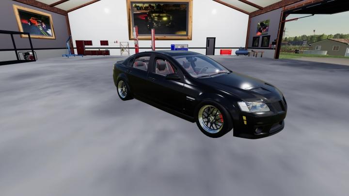 FS19 - Pontiac G8 Gxp V1.0