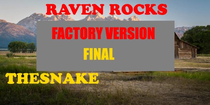 FS19 - Raven Rocks Factory Edition Final