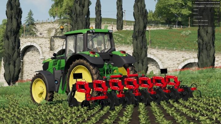 FS19 - Razol Row Crop Cultivator 6 Rows V1.0