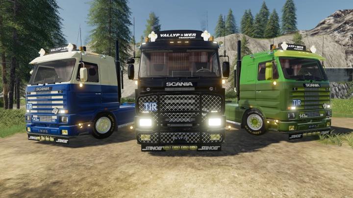 FS19 - Scania 143M V2.0