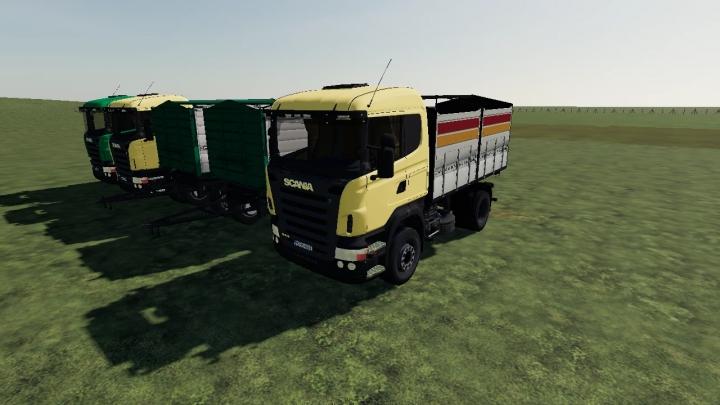 FS19 - Scania 4X4 V2.0