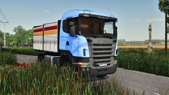 FS19 - Scania R440 4X4 V1.0