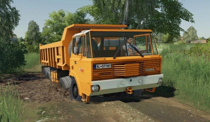 FS19 - Tatra 813 Drtikol V1.0