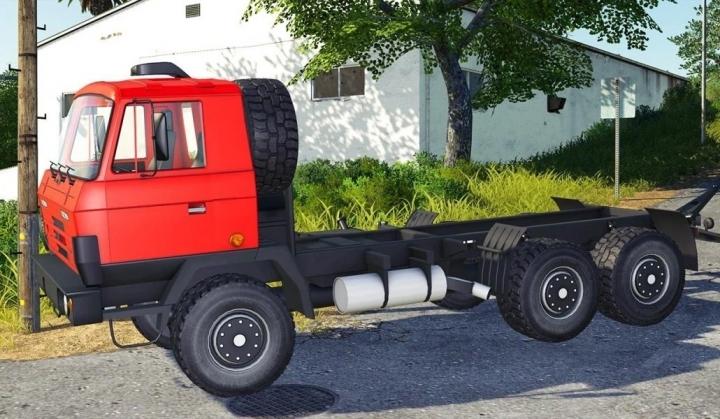 FS19 - Tatra 815 Red Truck V1.0