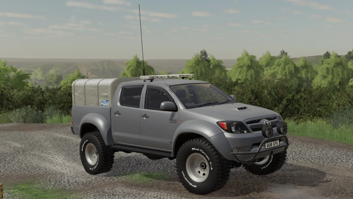 FS19 - Toyota Hilux At38 Uk V1.0