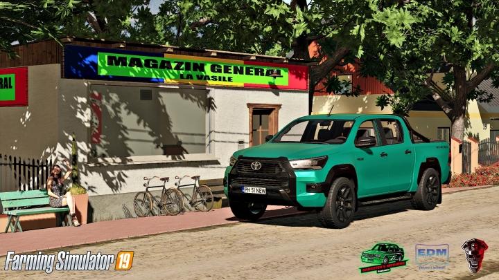 FS19 - Toyota Hilux Invincible 2021 V1.0