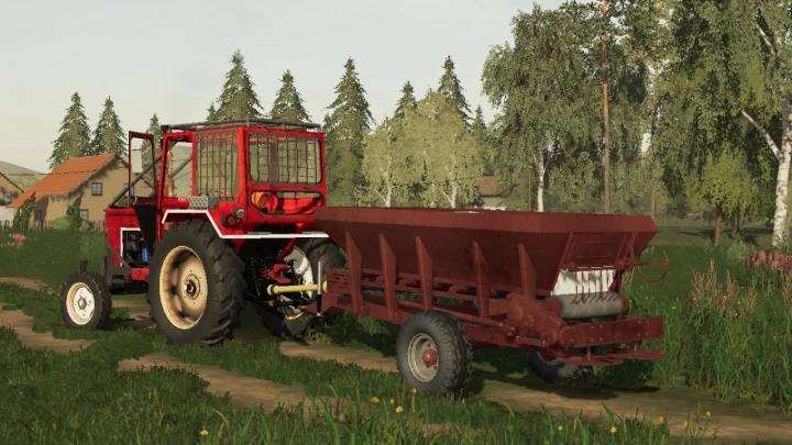 FS19 - U650 Forestry/Agro V1.0