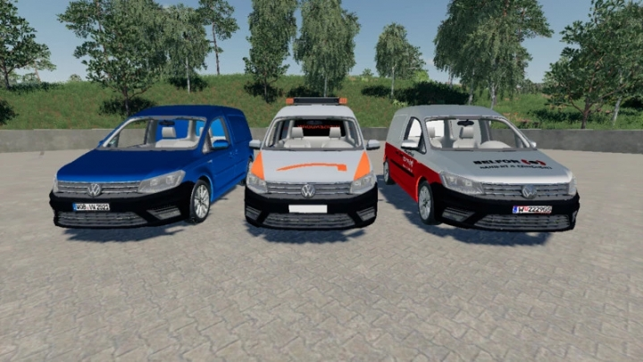 FS19 - Volkswagen Caddy Highline 2015 V1.0