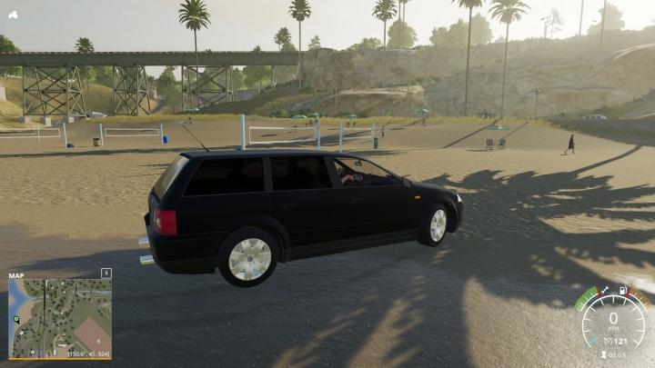 FS19 - Volkswagen Passat B5 Black V1.0