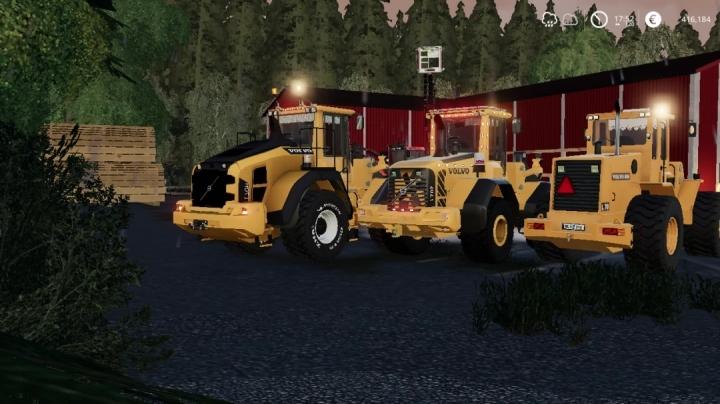 FS19 - Volvo L70-L70F-L70H V1.0