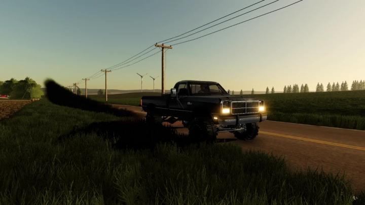 FS19 - 1992 D250 Dodge V1.0