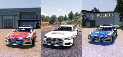 Photo of FS19 – Audi A6 Avant V1.0
