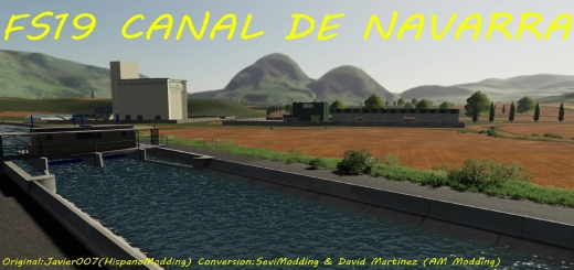 Photo of FS19 – Canal De Navarra V1.0