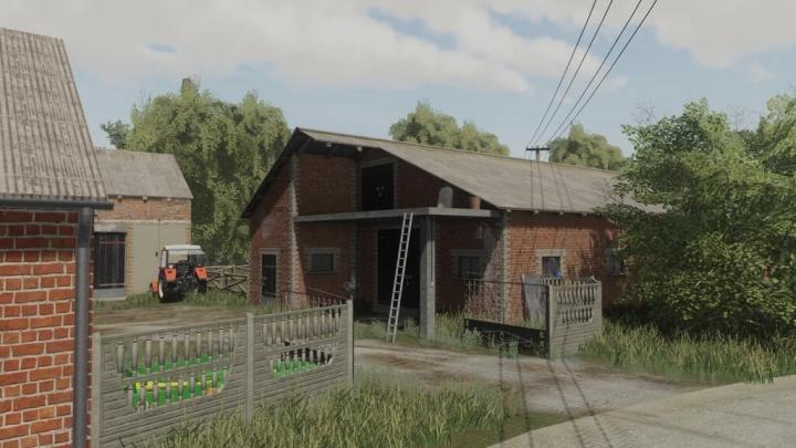 FS19 - Cow Barn V1.0