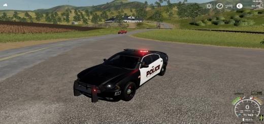 Photo of FS19 – Dodge Charger Us-Police V1.0