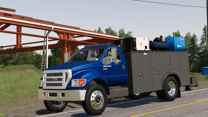 FS19 - Ford F750 Service V1.0